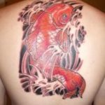 tatuaggi-carpe-colorate-rosse